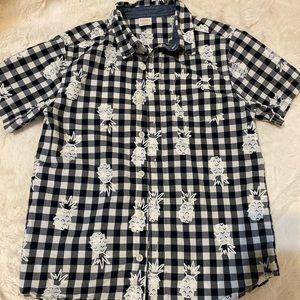 Boys Gymboree pineapple shirt